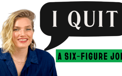 How I quit my job and started my own business