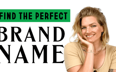 How to choose the perfect name for your company